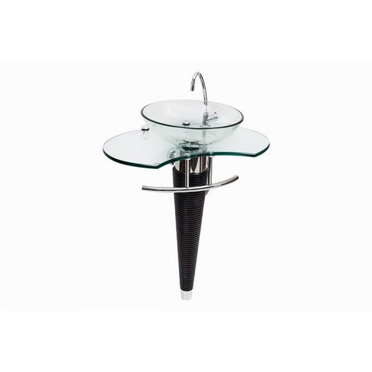 Gabinete para Banheiro Beethoven 70x46CM SEM Sifão e COM Vidro Astra