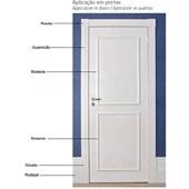 Guarnição 70cmx2,4m Branco Friso 456 Santa Luzia