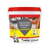 Impermeabilizante Aditivo Para Argamassa E Concreto Tecplus 1 3,6l Quartzolit