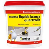 Impermeabilizante Manta Líquida 4,5l Branco Quartzolit