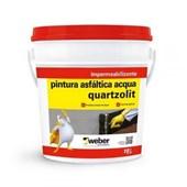 Impermeabilizante Pintura Asfáltica Acqua 18L Quartzolit