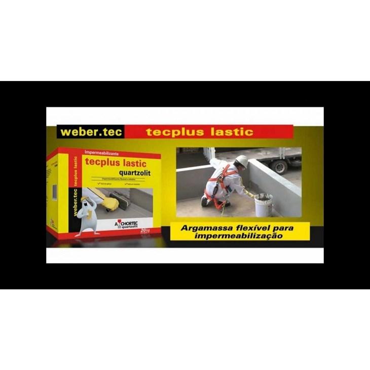 Impermeabilizante Tecplus Lastic 18KG Quartzolit