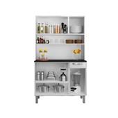 Kit Cozinha De Aço Rose I3g1-105 Branco/preto Itatiaia