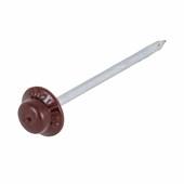 Kit Para Fixação Prego Fácil Com 18 Pregos Vermelho/marrom Onduline