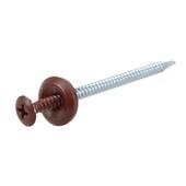 Kit Para Fixação Speedfix Com 18 Parafusos Vermelho/marrom Onduline