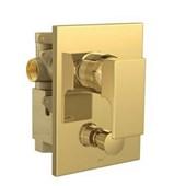 Misturador Monocomando Para Chuveiro Com Desviador Para Banheira Unic 2294 Gold Deca