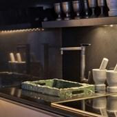 Misturador Monocomando para Cozinha de Mesa Twin com Filtro Bica Alta 2240 Cromada Deca