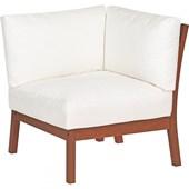 Módulo Canto para Sofá Terrazzo Fitt com Eco Blindagem e Estofado Branco Impermeável 10905/076 Tramontina