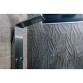 Painel de Banho Oásis HV6/158 Inox Astra