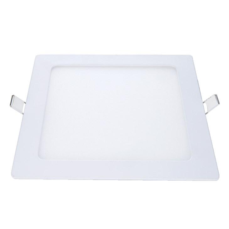 Painel Led de Embutir Quadrado 17CM 12W 6500W Emissão de Luz Branca Avant