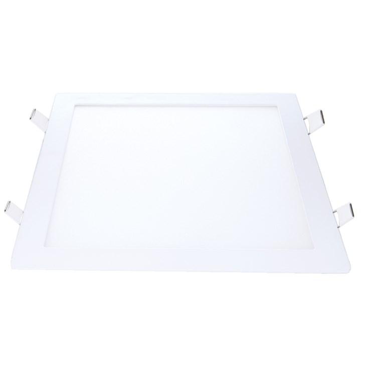 Painel Led de Embutir Quadrado 30CM 24W 6500K Bivolt Emissão de Luz Branca Avant