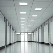 Painel LED de Embutir Quadrado POP 12CM 6W 4000K Bivolt Emissão de Luz Neutra Avant
