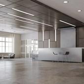 Painel Led Fit de Embutir 100x600MM 18W 6500K Bivolt Emissão de Luz Branca Avant