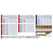 Pastilha de Vidro ABC 1,85x1,85 DVB 022 Placa