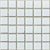 Pastilha de Vidro ABC 2,5x2,5 DVA 001 Branca Placa