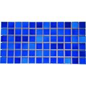 Pastilha Esmaltada 5x5cm Azul Viscaya Jd4810313 Jatobá