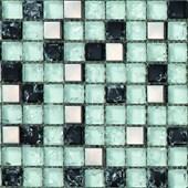 Pastilha Vidro Detalli 1,5X1,5 Dvd 011 Pedra Inox Pl
