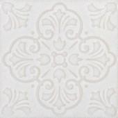 Porcelanato 18,5X18,5CM Twenty Delux While Brilhante Decortiles