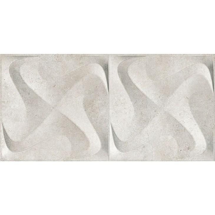 Porcelanato 30X60Cm Retificado Seattle Spin White Acetinado Incepa