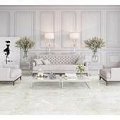 Porcelanato Esmaltado 52,7x105CM Retificado Onix Bianco Polido Biancogres
