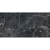 Porcelanato Esmaltado 60X120CM Retificado Venato Black Acetinado Roca