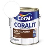Pré-pintura Coralit Massa Para Madeira Branco 6kg Coral