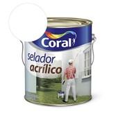 Pré Pintura Selador Acrilico Branco 3.6l Coral