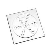 Ralo Rotativo de Inox 10x10CM sem Caixilho 2410 Meber