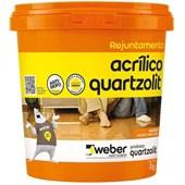 Rejunte Acrílico 1kg Cinza Ártico Quartzolit
