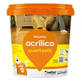 Rejunte Acrílico 1kg Preto Grafite Quartzolit