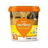 Rejunte Acrílico Bd 1kg Kraft Quartzolit