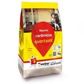 Rejunte Flexível 1KG Cinza Platina Quartzolit