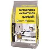 Rejunte para Porcelanato/Mármore/Granito 5kg Marfim Quartzolit