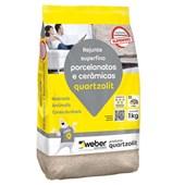 Rejunte Porcelanatos e Cerâmicas Superfino 5KG Marrom Café Quartzolit