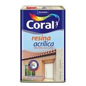 Resina Acrilica Brilhante Transparente 5l Coral