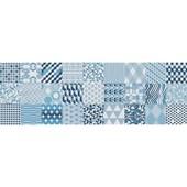 Revestimento 30x90,2cm Retificado Alfama Azul Acetinado Incepa
