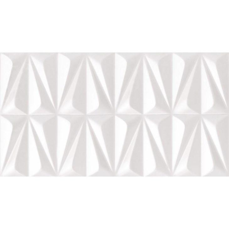 Revestimento 32x59cm Retificado Ludo White Brilhante Incepa