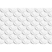 Revestimento 43,7X63,1CM Retificado Dália Branco Acetinado IN/ EX 2 Ceusa