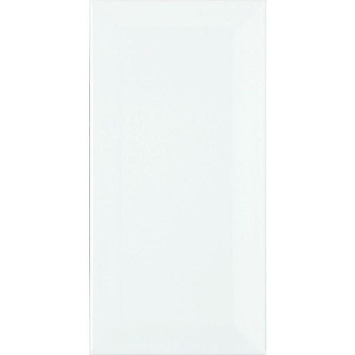 Revestimento Cerâmico 10x20cm Bold Metrô White Brilhante In Eliane