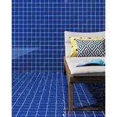 Revestimento para Fachada 7,5X7,5CM Bold Prisma Blu Brilhante FA/RE Portobello
