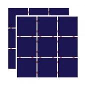 Revestimento para Fachada e Piscina 10X10CM Telado Azul Cobalto Ceral