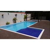 Revestimento para Fachada e Piscina 20X20CM Azul Cobalto Ceral