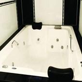 Spa 2 Lugares Topcril Premium 151x201x64cm Ouro Fino