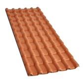 Telha De Pvc Plan Cerâmica 2,42x0,88m Precon