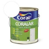 Tinta Acrílica Coralar Acrilico Fosco Branco 3.6L Coral