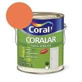 Tinta Acrílica Coralar Acrilico Fosco Laranja Maracatú 3.6L Coral
