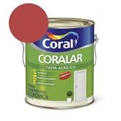 Tinta Acrílica Coralar Acrilico Fosco Rubi 3.6l Coral