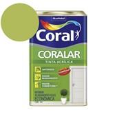 Tinta Acrílica Coralar Acrilico Fosco Verde Limão 18L Coral