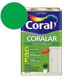 Tinta Acrílica Coralar Acrilico Fosco Verde Timbalada 18L Coral