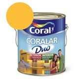 Tinta Acrílica Coralar Duo Fosco Amarelo Frevo 3.6L Coral